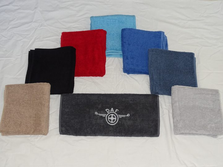 Handdoek met DAF logo
