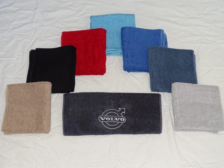 Handdoek met Volvo logo