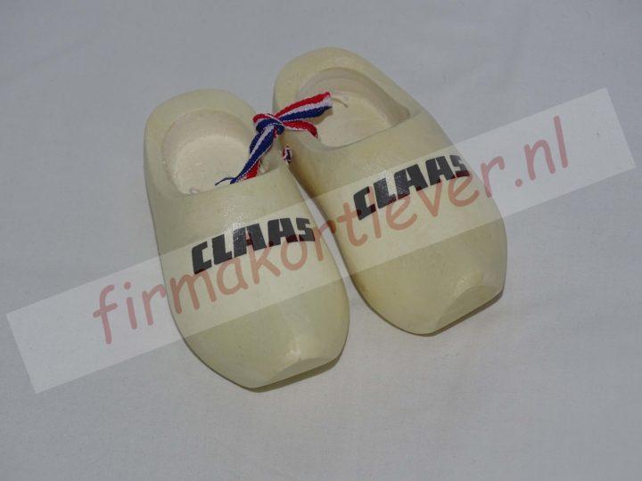 Dashboard klompjes met Claas logo