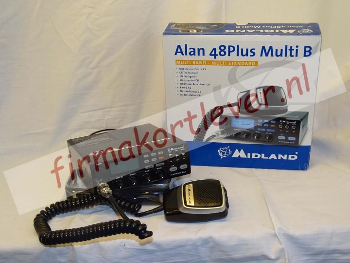Midland 27 MC zender-ontvanger Midland Alan 48PLUS