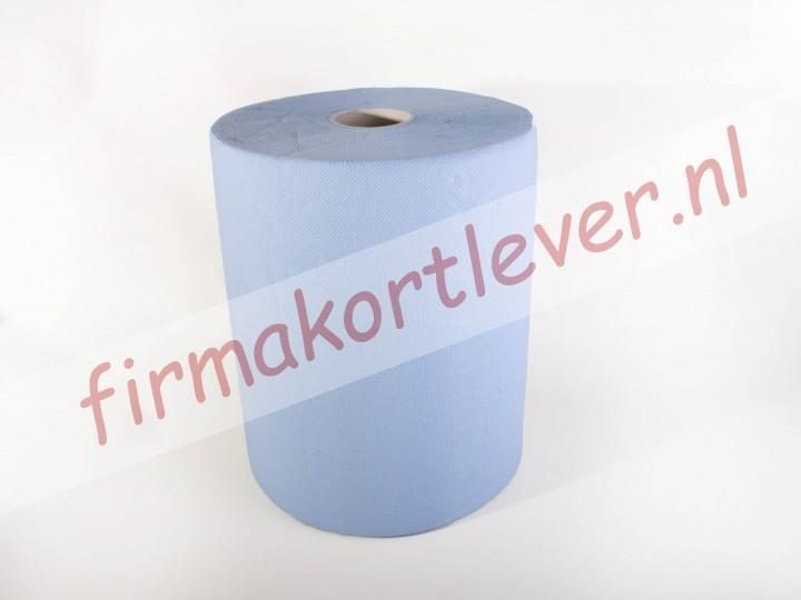Industriepapier rol blauw