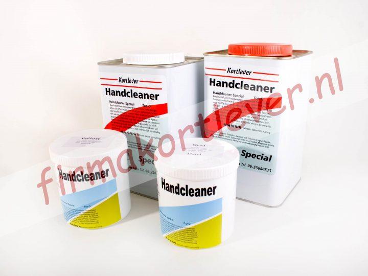 Handcleaner – Garagezeep met korrel