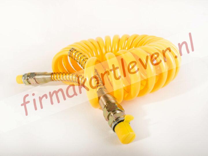 Luchtspiraal PUR 16-22mm geel