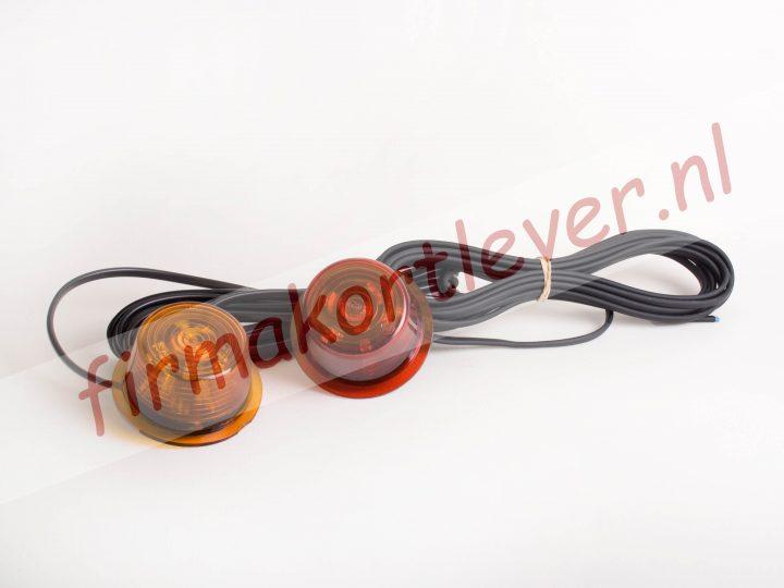 Zweedse breedtelamp LED lens
