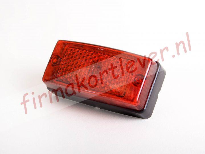 Hella Zijmarkeringslamp rood met reflector