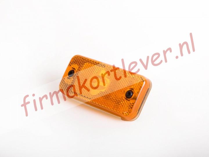 Vignal Zijmarkeringslamp oranje met reflector