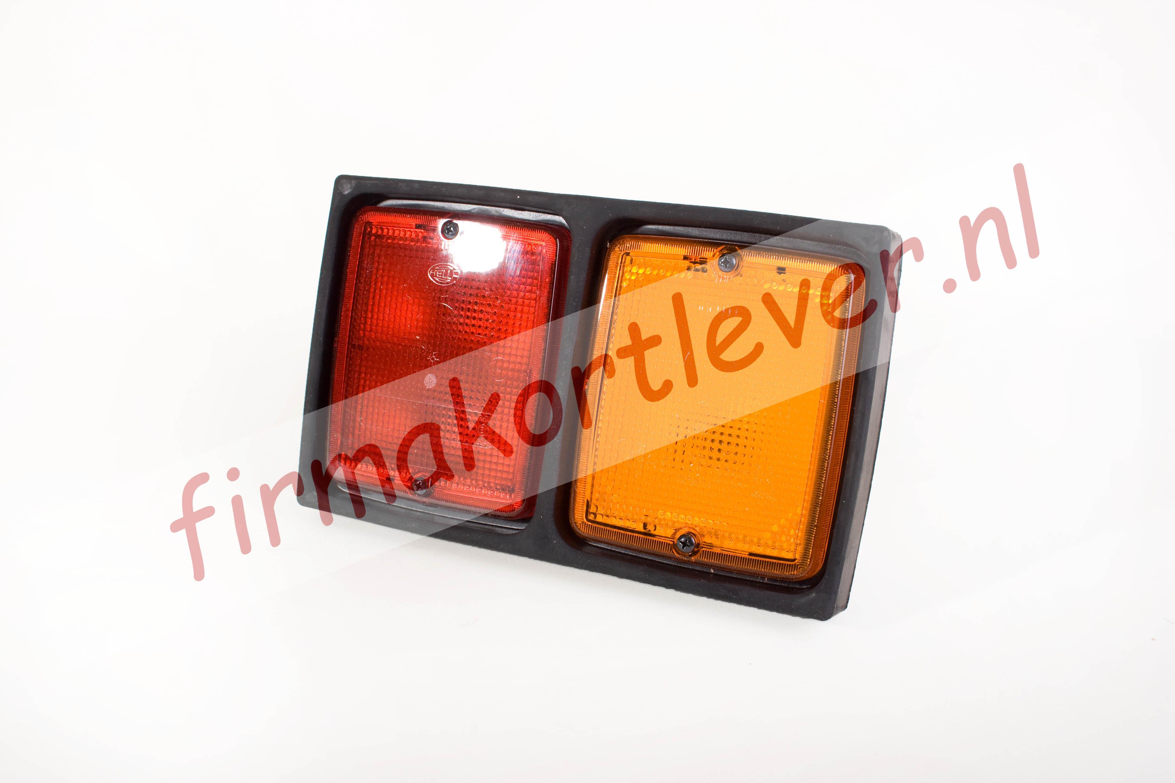 Hella bloklicht-bloklamp inbouw, compleet