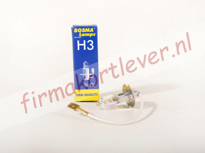 Bosma lamp H3 12V