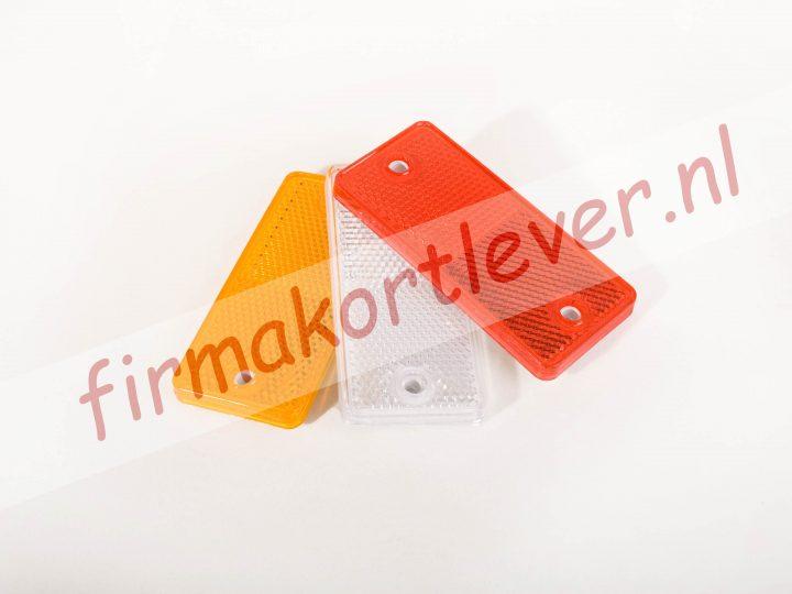 Rechthoekige plak / schroef reflector