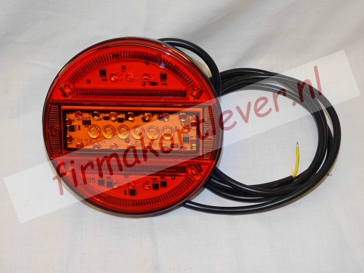 LED hamburgerachterlicht 12 en 24V multi voltage