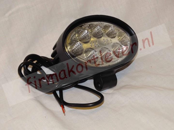 KSG LED werklamp ovaal 24W 9-32v