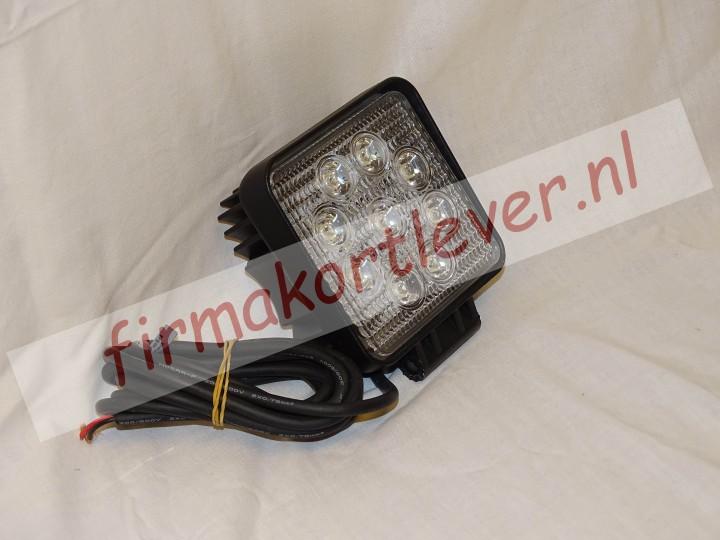 KSG LED werklamp 27W Radio Ontstoord