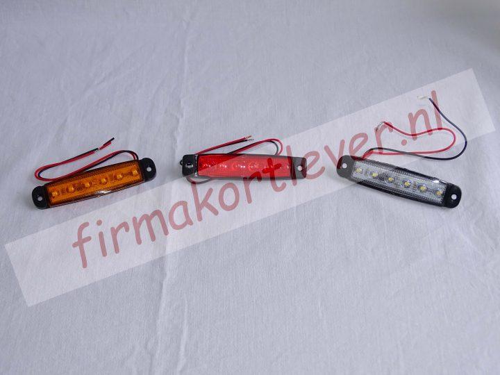 Dasteri opbouw 24volt LED