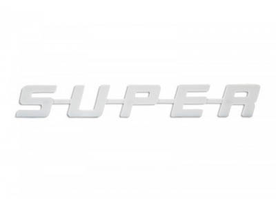 Scania SUPER-Sign RVS 435x65mm